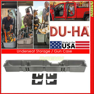 Du ha For 09 10 Ford F 250 550 Super Duty Supercab Gray 20082 Underseat Storage