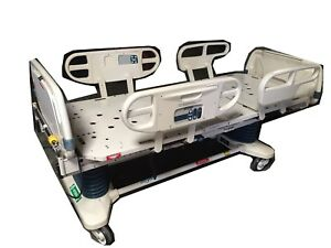 Stryker Secure Ii Full Hospital Medical Surgical Patient Stretcher Gurney Bed