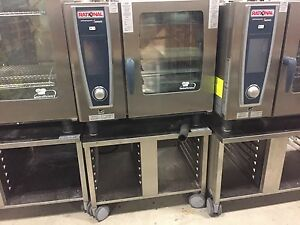 2011 Rational Sccwe61g Gas Demo Combi Oven 1 Year Factory Warranty Natural Lp