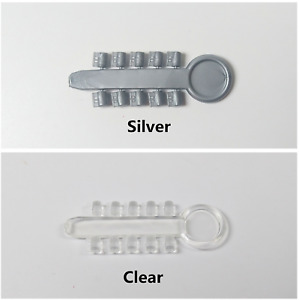 Dental Orthodontic Rotation Wedges Rubber Elastics Clear silver For Brackets