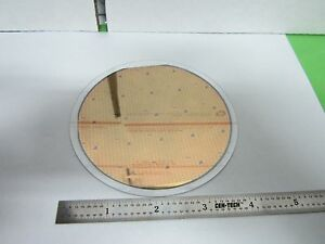 Silicon Wafer Bonded To Pyrex Glass Wafer Components As Is Bin f5 21