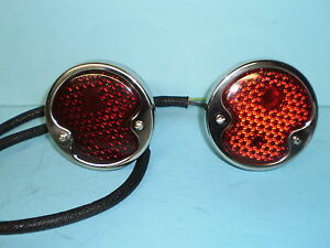 1932 1934 1935 1936 1937 1938 1940 1942 Ford Pickup Commercial Taillight Set