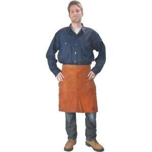 Leather Waist Apron 24 Lava Brown