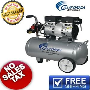 California Air Tools 5 5 Gal Electric Portable Air Compressor Quiet Oil free