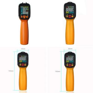 Es_ Non contact Digital Lcd K type Infrared Thermometer Ir Laser Temperature Gun