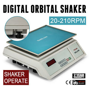 Lab Digital Oscillator Orbital Rotator Shaker Speed Control Adjustable Clini