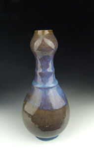 One Nice Chinese Antique Jun Ware Garlic Head Porcelain Vase