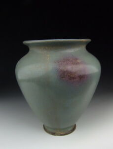 One Nice Chinese Antique Jun Ware Porcelain Vase