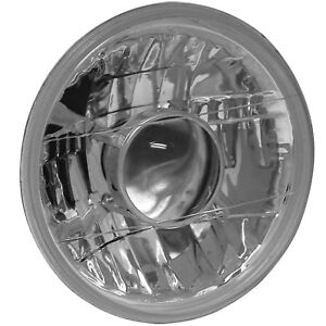 Anzo H4 7 Round Universal Projector Headlight Chrome Clear Lens 861070