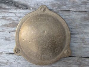 Vintage Ihc International Tractor Hit Miss Stationary Engine Cast Brass Cover