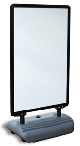Wind Sign Deluxe Snap Frame 28 Inch X44 Inch Glossy Black