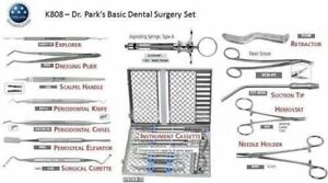 Dr Park s Basic Dental Surgery Kit 653
