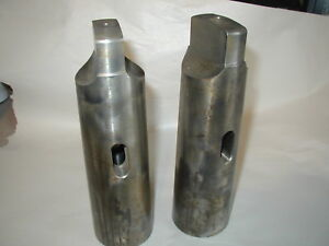 Morse Brand Usa Made Taper Adapter 4 Inside 6 Outside New 4 To 6