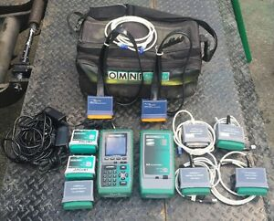 Fluke Microtest Omni scanner Cable Analyzer Tester