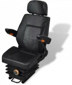 Tractor Seat With Arm Rest And Head Rest With Spring