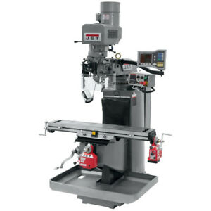 Jet 691519 Jtm 949evs Mill W 3 axis Acu rite Vue quill W x Y