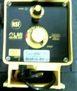 Lmi Milton Roy B131 75s Electronically Controlled Metering Pump Free Shipping