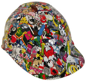 Hard Hat White Sticker Bomb W Free Brb Customs T shirt