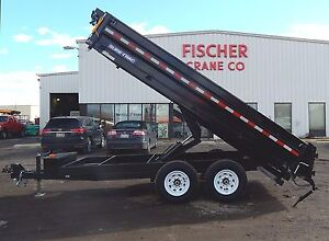 New Hydraulic 96 X 14 Deckover Trailer 14k With 8 X 22 Boxed Tarp