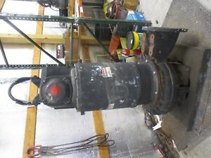 Flygt 12 100hp Iron Submersible Pump 12141207d Used
