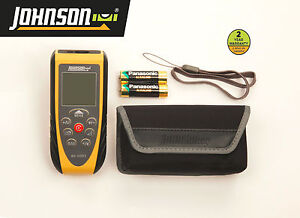 Johnson 40 6001 165 foot Laser Distance Measure Free Shipping
