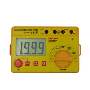 Digital Lcd Pro Insulation Resistance Test Meter Megohmeter 2000m High Resistor