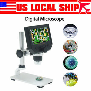 G600 1 600x 4 3inch Digital Microscope Magnifier Endoscope Professional Camera