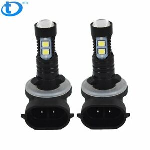 Fog Lights 8000k Ice Blue 50w Cree Bulbs 881 Fit For Hyundai Accent 2000 2017