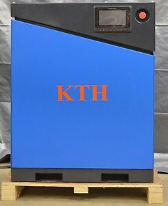 New Kth 20hp Vsd Direct Drive Screw Air Compressor Air Dryer And 120gal Tank