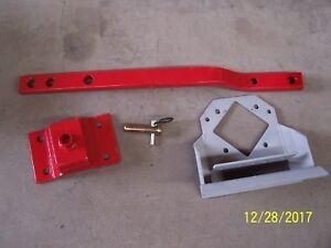 Ford massey Ferguson Swinging Drawbar Kit Red