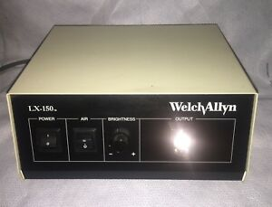 Welch Allyn Lx 150 Light Source 150 Watt With Air Pump