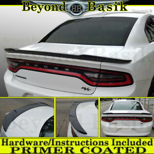 2011 2019 Dodge Charger Factory Hellcat Style Spoiler Wing Fin Primer