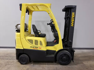 2013 Hyster S50ft Smooth Cushion Forklift Lpg Lift Truck Hi L0 83 189
