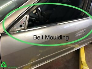 2003 Nissan Altima Left Front Door Belt Moulding