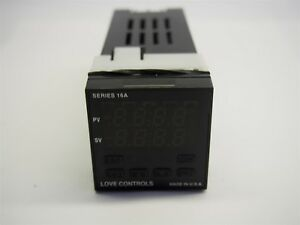 Love Controls Series 16a Temperature Controller 16a3122