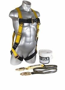 Guardian Fall Protection 00875 Li l Bucket Of Safe tie With Xl Huv Shoc