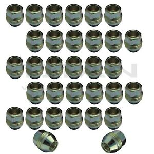 32 Piece 9 16 Open End Lugs Nuts Factory For Chevy Gmc Style Type Lugs Zinc