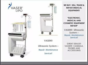Vaser Liposuction System Medical Equipment Evaluation Repair Service