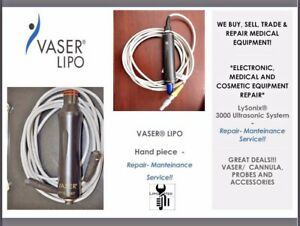 Vaser Liposuction Hand Piece Medical Equipment Evaluation Repair Service