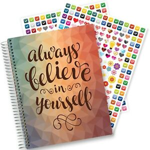2018 Planner Hardcover W 8 5x11 Full Color Pages Daily Weekly Monthly Yearly
