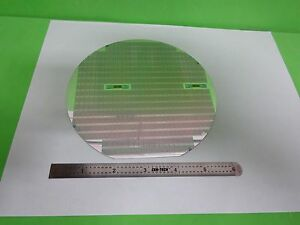 Semiconductor Wafer Silicon With Components As Is Bin p6 95
