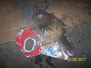Ac Allis Chalmers 160 Tractor Engine Front Timing Cover Been Welded