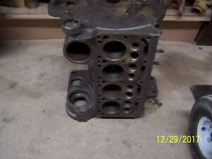International Farmall Cub Tractor Engine Block