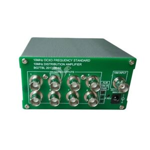 10mhz Frequency Distribution Amplifier 10mhz Ocxo Frequency Clock Divider 8 Out