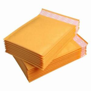 6x10 0 Kraft Bubble Mailers Shipping Mailing Padded Bags Envelopes 6 X 9