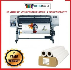 Hp L25500 60 Printer Plotter Car Wrap Signs Banner Z6100 L26500 Latex Ink