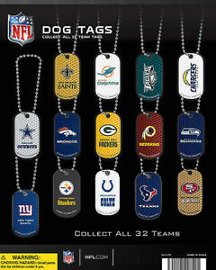 Vending Machine 1 00 Capsule Toys Nfl Dog Tags