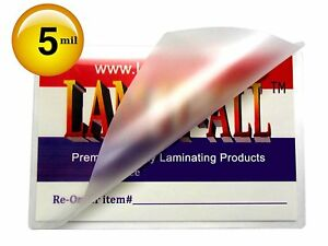 Double Letter Laminating Pouches 5 Mil 11 1 2 X 17 1 2 Laminator Sleeves Qty 100