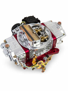 Holley Carburetor Ultra Street Avenger 670 Cfm Square Bore 4 ba 0 86670rd