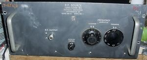 7 300 To 10 500 Mhz Weinschel Engr Microwave Rf Signal Source
